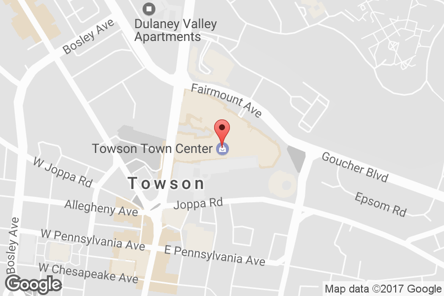 Map of Towson Town Center - Click to view in Google Maps